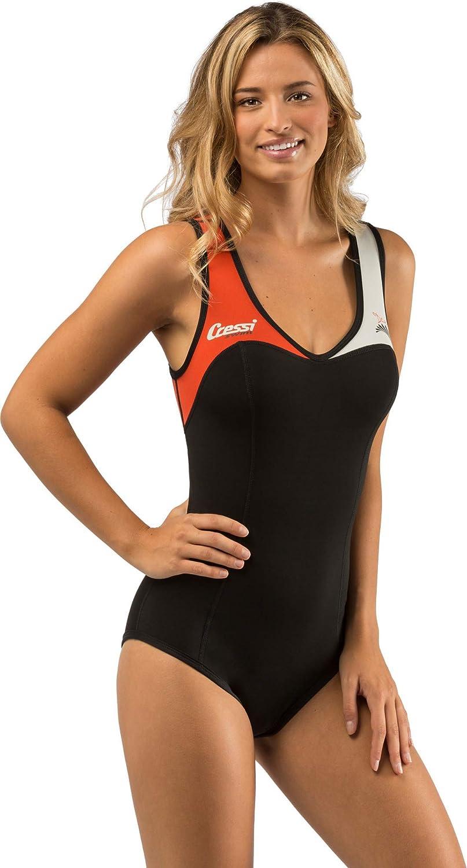 Cressi Dea Swimming Neoprene Wetsuit 1mm Premium Maillot de Bain Femme