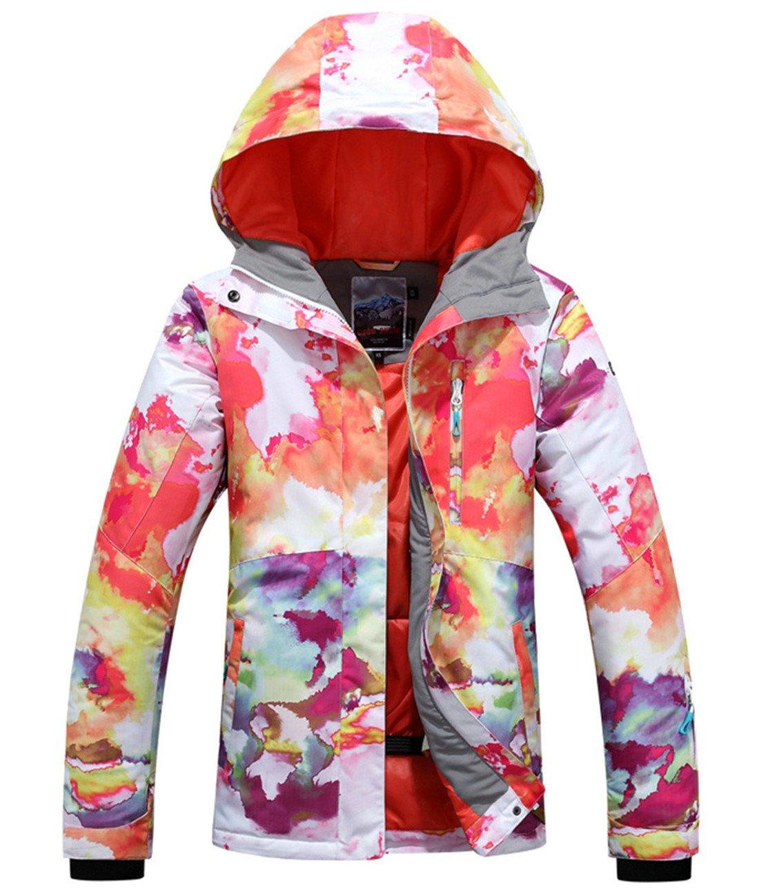 APTRO Women's Windproof Waterproof Bright Color Ski&Snowboarding Jacket #514 Size L