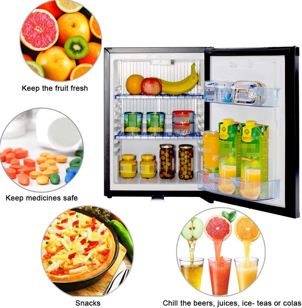 Amazon.com: SMETA Mini nevera sin ruido: refrigerador de ...
