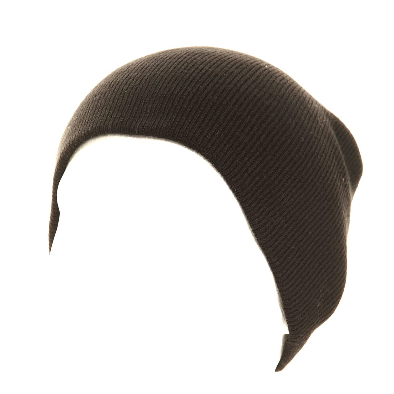 Schwarz Uni Mütze Skull Beanie Herren Cap Ski Mütze für Damen, junge Mädchen WRAPEEZY Winter