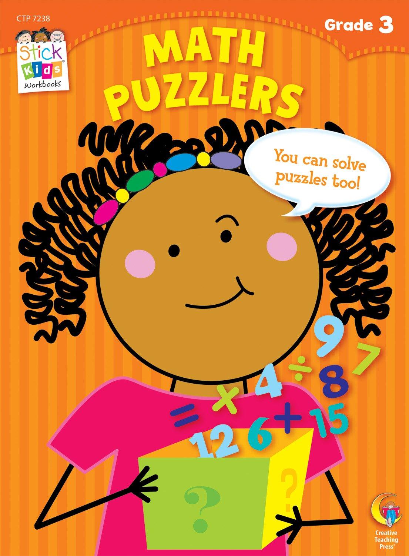 Math Puzzlers Stick Kids Workbook, Grade 3 (Stick Kids Workbooks ...