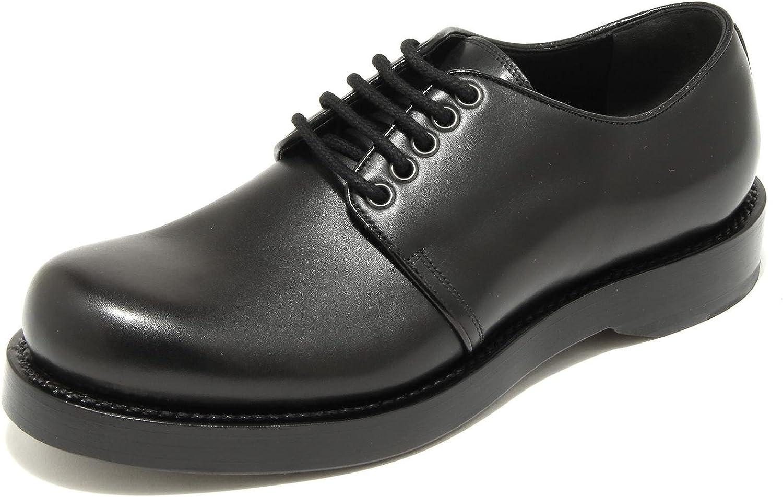 4957G scarpa allacciata uomo nera GUCCI sella lux shoes men