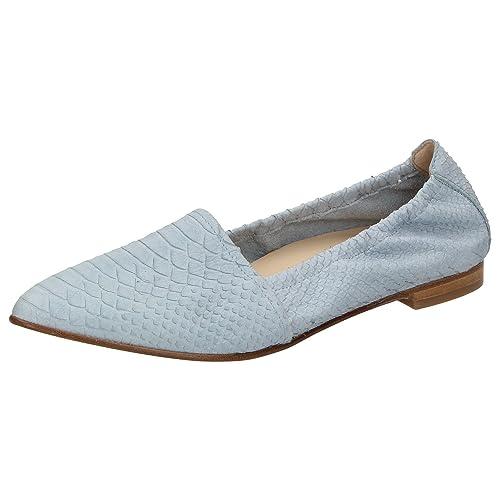Sioux - Mocasines de Piel para mujer azul azul, color azul, talla 42 EU: Amazon.es: Zapatos y complementos