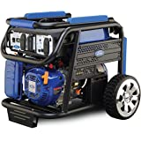 Ford 7500 Watts Peak & 6000 Watts Rated 420cc Petrol / Gasoline Powered Portable Generator, Blue