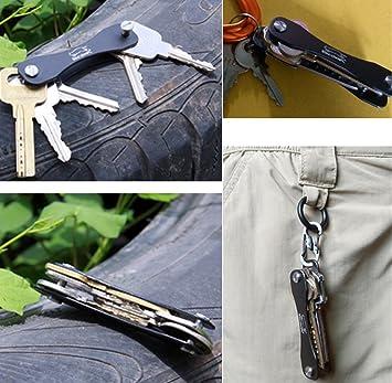 unho Práctico de bolsillo de EDC Aluminio Llavero ...