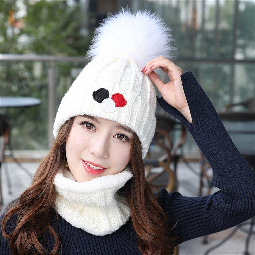 beanie Master-Halloween Navidad Sombreros Otoño Invierno Hat Espesada Hat señoras  Gorro Cap Tejidos Protectores de Cabeza Hueca 467ce0200ac