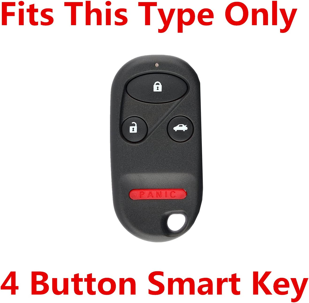 Rpkey Silicone Keyless Entry Remote Control Key Fob Cover Case protector For Acura TL Honda Accord CR-V Civic Insight Odyssey Pilot Prelude S2000 KOBUTAH2T A269ZUA101 A269ZUA108 CWT72147KA Violet