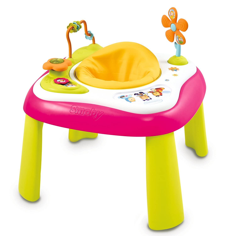 Smoby 110206 - Cotoons Youpi Baby Activity Tisch, rosa