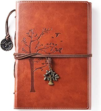Amazon Com Lined Refillable Vintage Writing Journal For Women