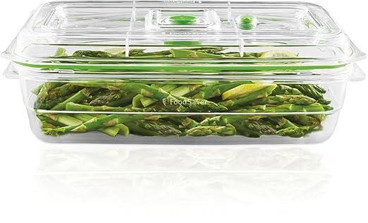 Foodsaver FFC010X Recipiente para envasar al vacío, 2,3 L, 2.3 ...