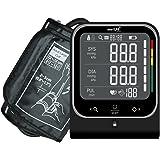 smartLAB pressure Oberarm Blutdruckmessgerät   Messgerät zur Bestimmung des Blutdrucks in Schwarz