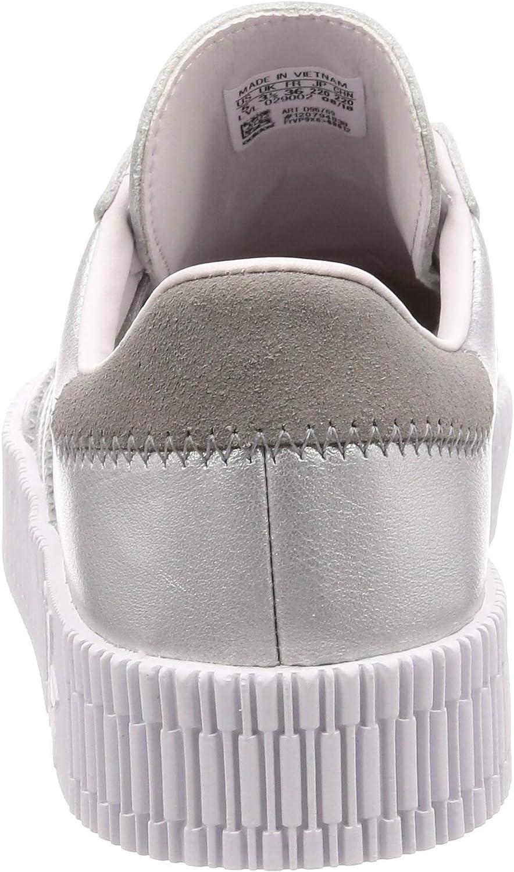 adidas SAMBAROSE W, Scarpe da Fitness Donna Argento Plamet Plamet Tinorc 000