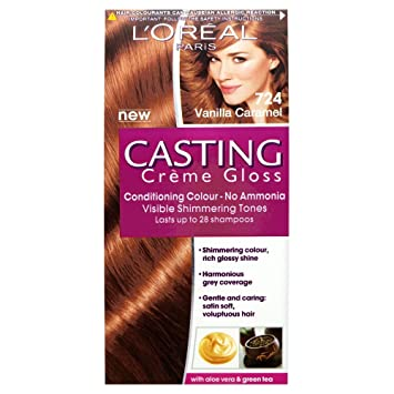 loral paris casting crme 724 vanilla caramel - Coloration L Oreal Caramel
