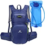 NEVO Rhino Hydration Backpack Pack with 3L/2L Water Bladder for Hiking Running Cycling Climbing Skiing,Insulated, Big Waist Bags
