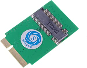 SMAKN M.2 NGFF SSD to 7+17 pin Adapter 64G 128G 256G for 2012 Apple AIR A1466 A1465 SSD