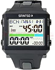 Spintso Ref Watch Pro grau Profi Schiedsrichter-Armbanduhr