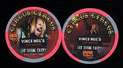 Amazon.com: $5 circo Circus Vince Neil plomo Sinder de ...