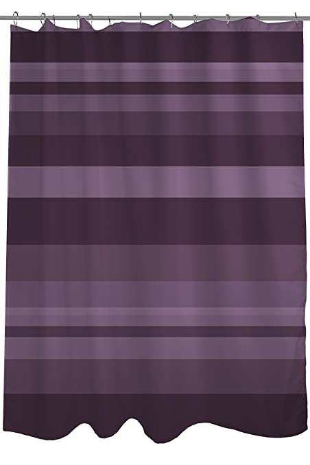 One Bella Casa Caroline Stripes Shower Curtain By OBC Standard 71quotx 77quot