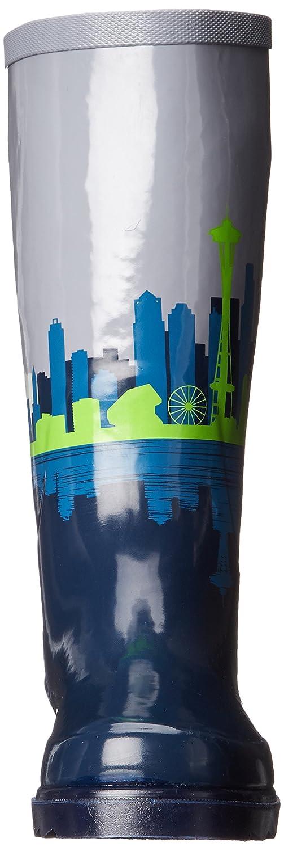 Chooka Women's Tall Rain Boot B010AZVYT0 10 B(M) US Skyline