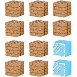 MINECRAFT(マインクラフト) ブロックセット オークの木材とガラスブロック