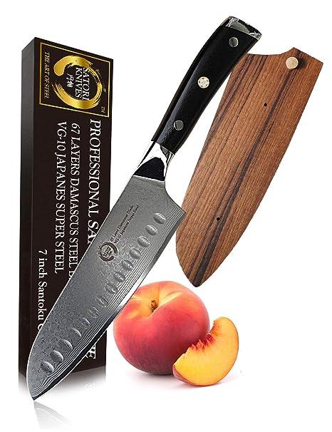 Amazon.com: Koto Satori Cuchillo de chef profesional – 67 ...