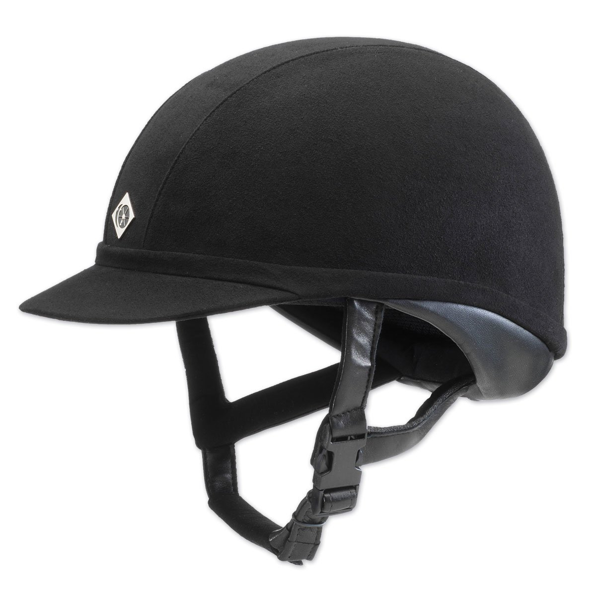 Charles Owen Wellington Professional Riding Hat Black 65cm