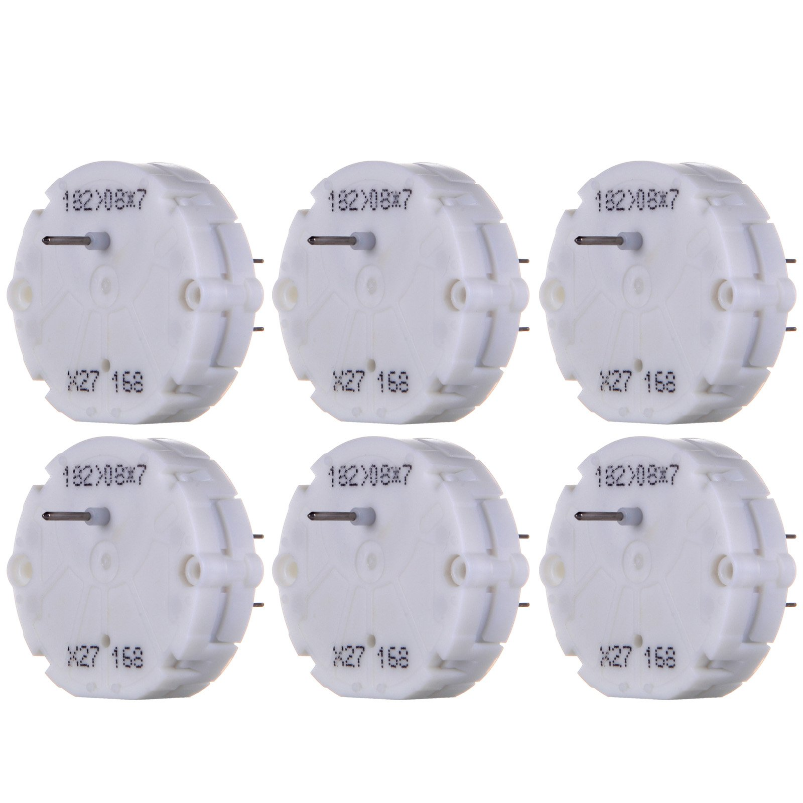 cciyu Stepper Motor X27 168 Instrument Cluster Repair Speedometer Gauge Replacement fit for GM Chevy (6pack) by cciyu