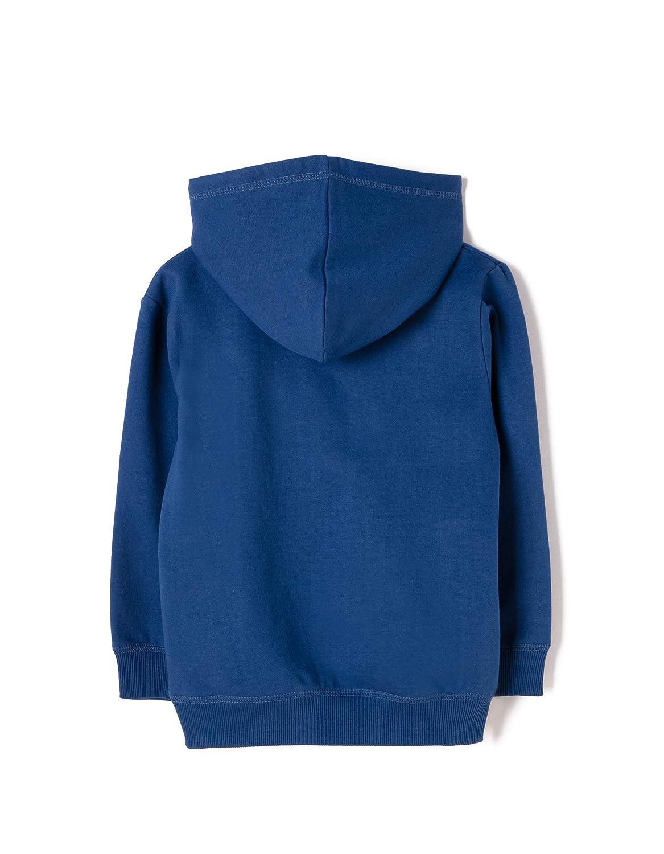 ZIPPY Jungen Hoodie Fleece Class Blue Mantel