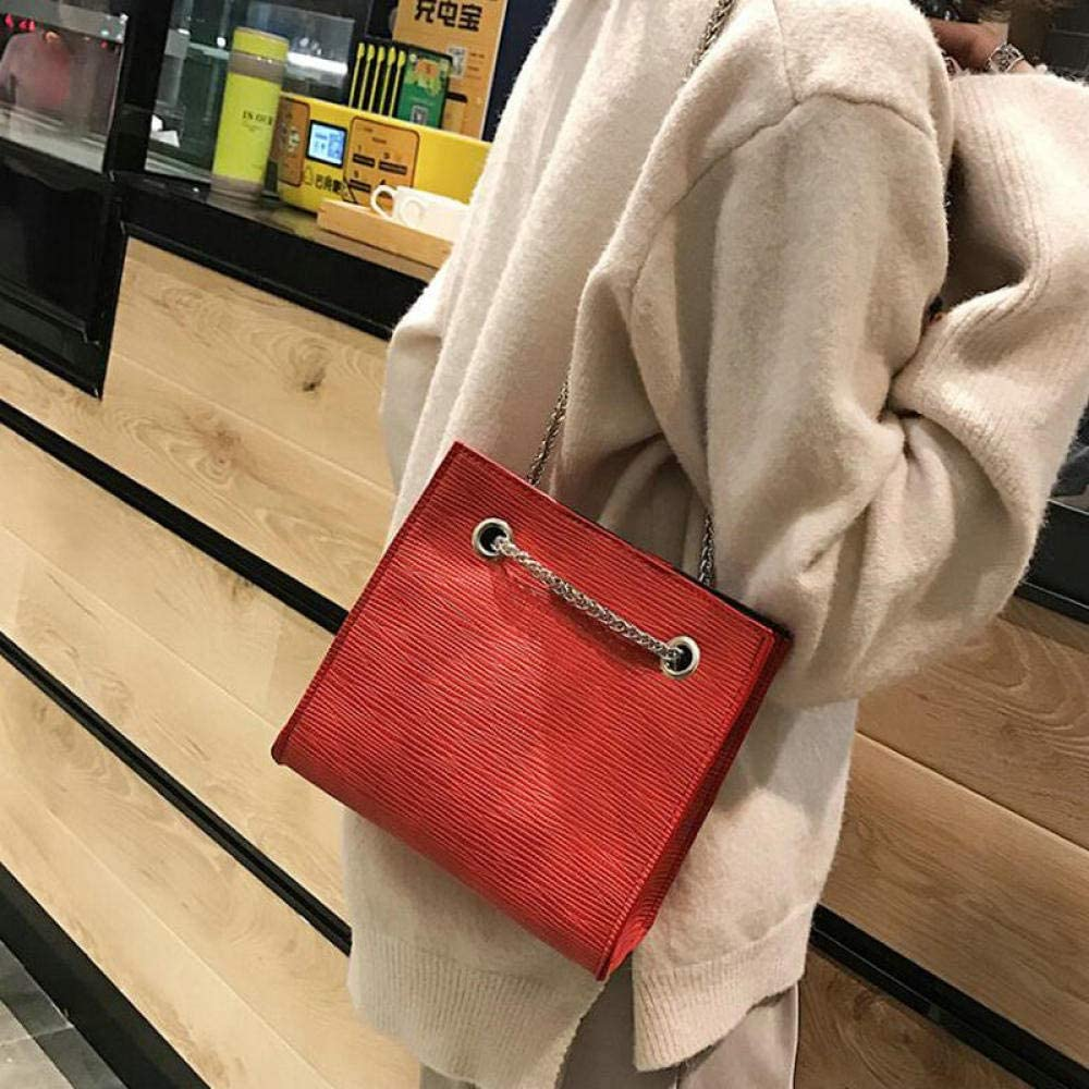 LANDONA Brand Bolsa Crocodile Schultertasche Damen Umhängetaschen Für Damen Leder Designer Kette Big Totes Taschen A41-79 @ RED_SMALL A2421
