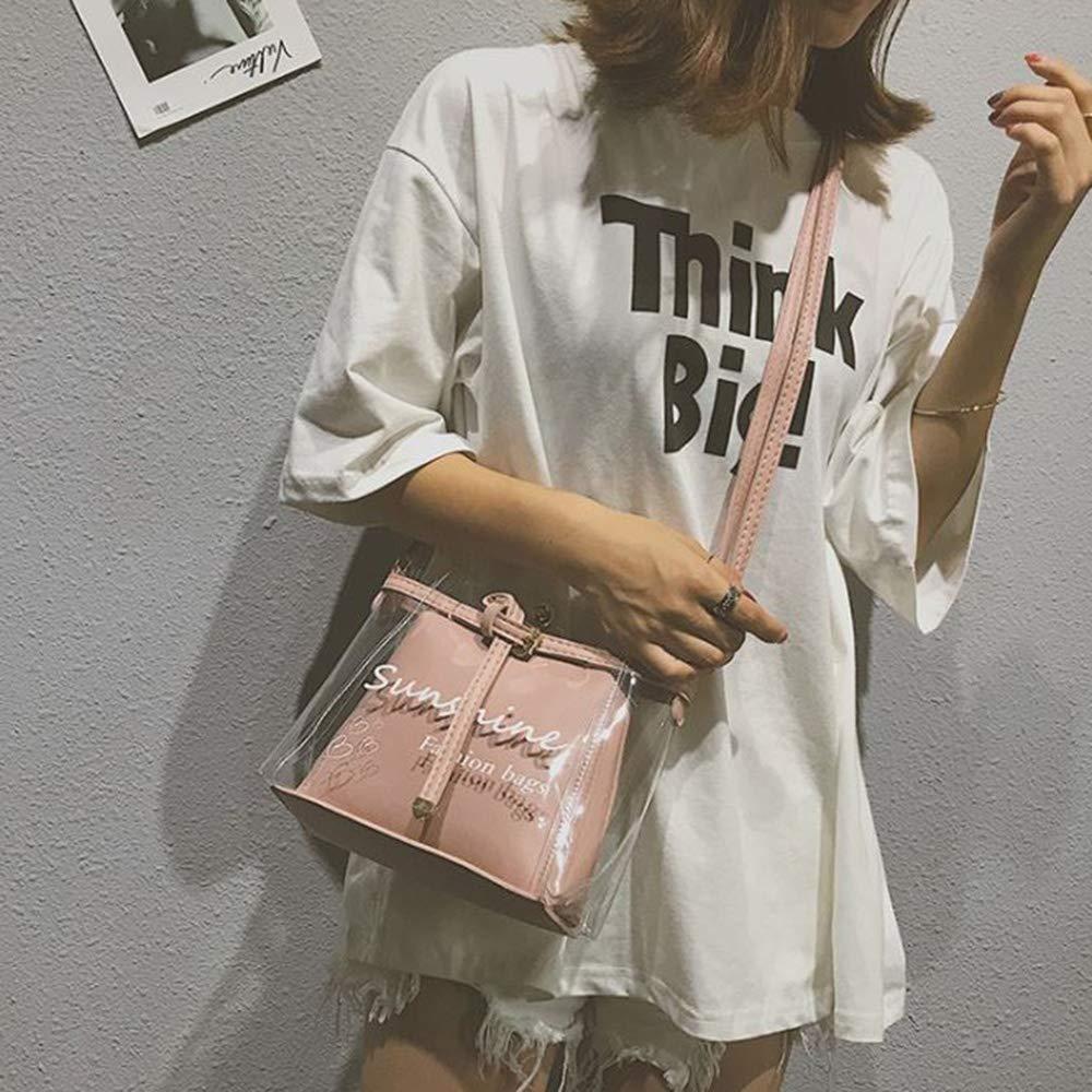 populaire sac /à main de voyage de plage de sucrerie de gel/ée-imperm/éable Les femmes d/égagent le sac /à bandouli/ère transparent