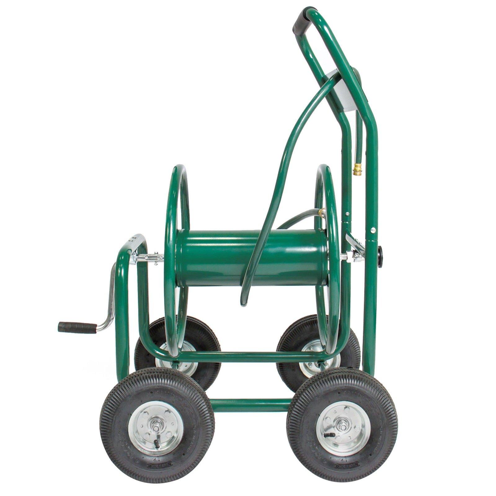 Garden Rolling Water Hose Reel Cart