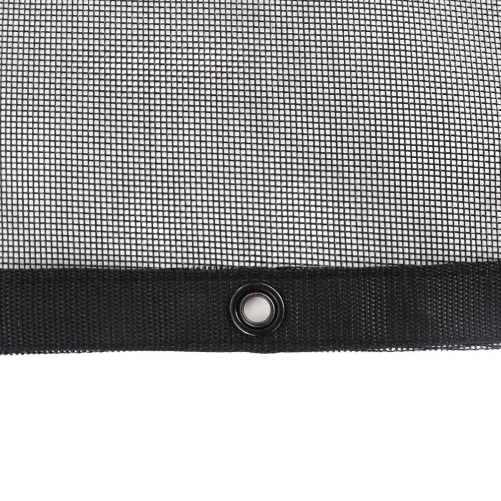 with Zip Handle Bag-3 Years Lasting leaveshade Truck Mesh Tarp 9X12-Tentproinc Heavy Duty Cover No Rust Thicker Copper Eyelets Reinforced Double Needle Stitch Webbing Ripping Tearing Stop