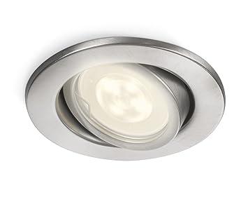 recessed spot lighting. Philips MyGarden Fresco LED Recessed Spot Lights (1 X 5W, 230 V) - Lighting S