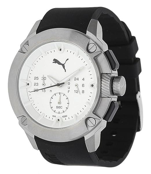 PUMA hombre reloj cronógrafo híbrido negro PU103711002U