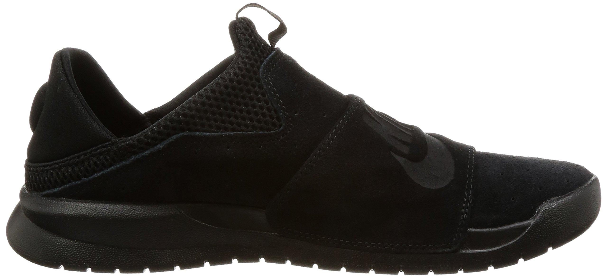 Nike BENASSI SLP Mens fashion-sneakers 882410-003_9.5 - BLACK/BLACK-BLACK by NIKE (Image #6)