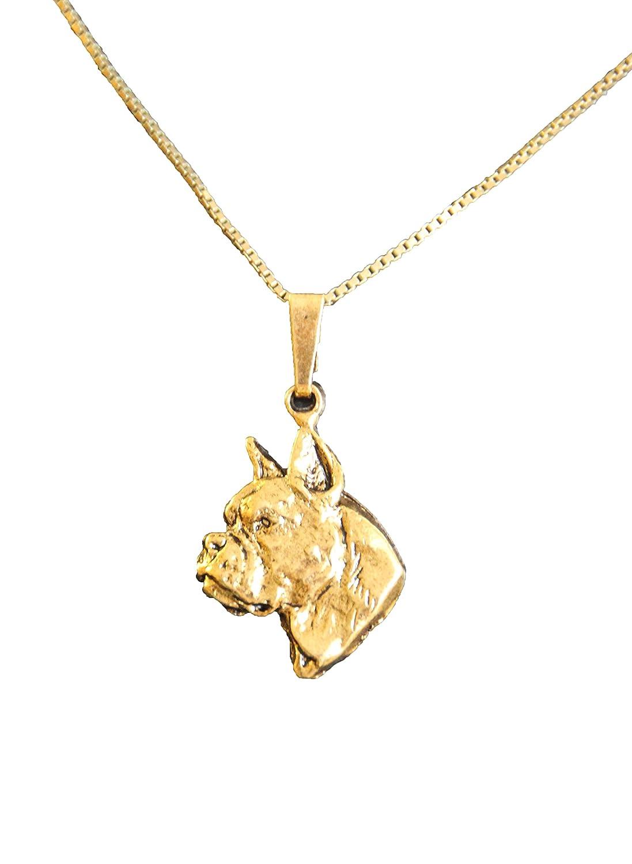 Silber Hund Schmuck Neufundländer Halskette mit Hunde Kopf Anhänger
