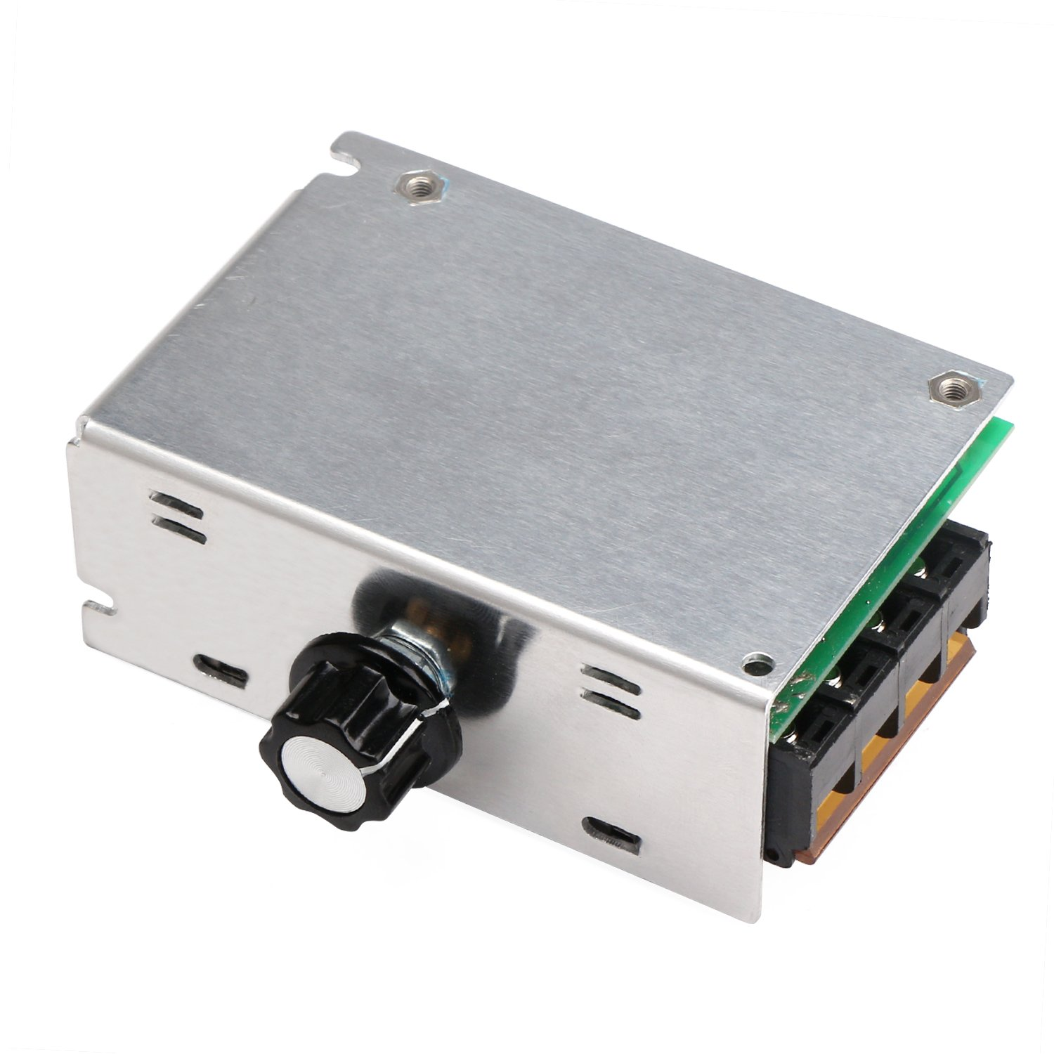 Motor Speed Controller Drok Control Board Ac 110v 4000w Simple Two Different Voltages Electronics Adjustable Voltage Regulator Scr High Power Dimmer Temperature Governor Dimming