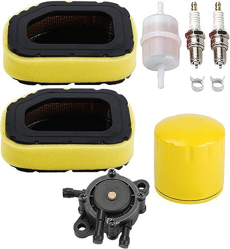 Air Filter Oil Filter Fuel Filter Fuel Pump Spark plug for Kohler SV710 SV715