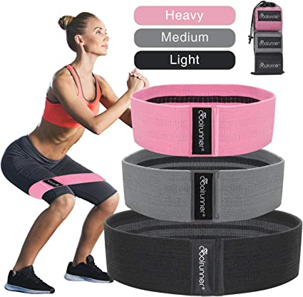 Resistance Hip Band Booty Exercise Glute Strengthening Non Slip Peach Glute Loop