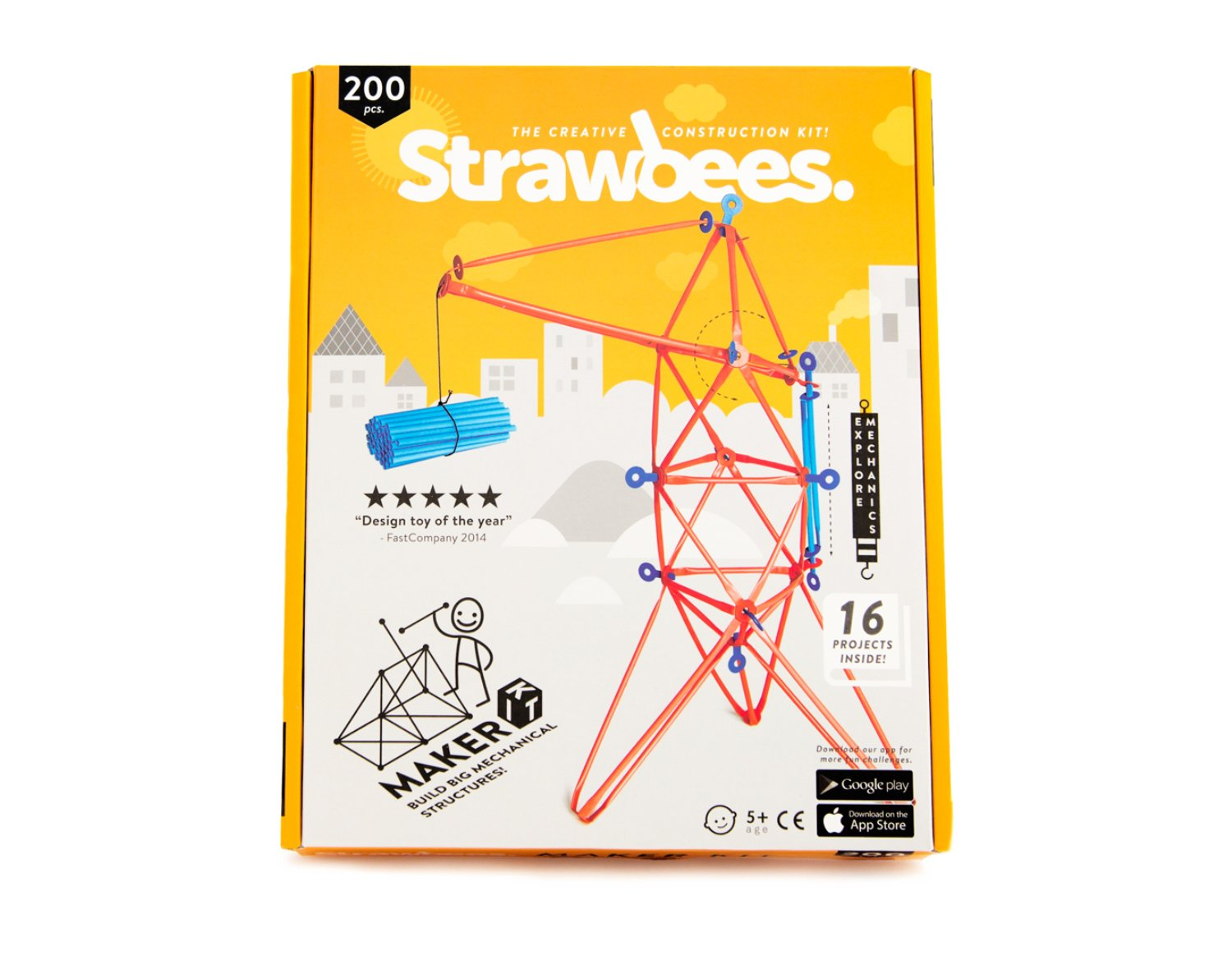 Strawbees Maker Builder Kit - 100 Straws and 100 Connectors Set, Educational & Creative Building Toy, Tinkering & STEM Learning, Suitable for Children 5 Years & Up Review