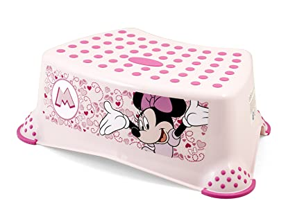 Lulabi disney step minnie sgabello rosa amazon prima infanzia