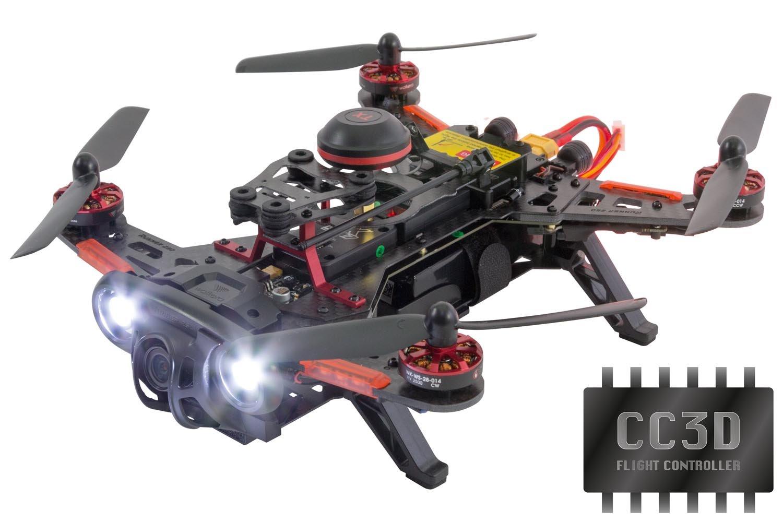 XciteRC 15003790 FPV Racing Quadrocopter oder Drohne Runner, 250 Advance CC3D RTF mit HD Kamera, Akku thumbnail