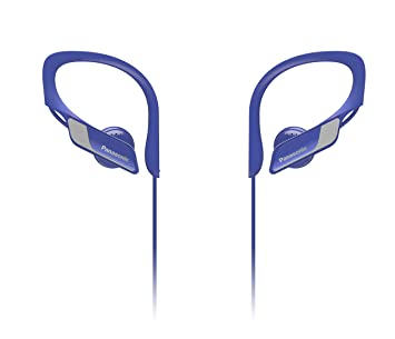 Panasonic Wings RP-BTS10E-A - Auriculares Deportivos In-Ear con Bluetooth, Azul: Amazon.es: Informática