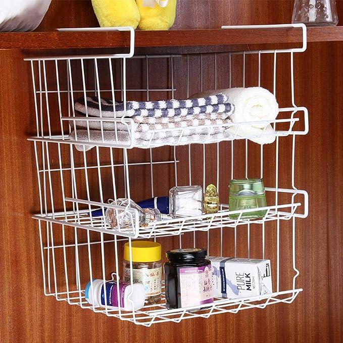 Kühlschrank Ablagekorb, Küche Multifunktionale Lagerregal unter ...