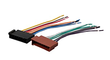Amazon.com: REDWOLF Car Wiring Harness Replace Factory Radio ... on