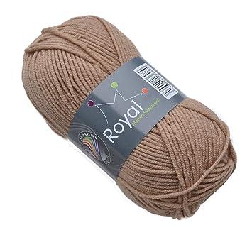 Gründl Royal Merino Superwash Wolle Fb 20 Camel Merinowolle