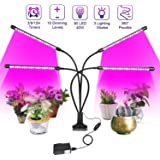 Fancy Buying CO. LED Grow Lights for Indoor Plants 80W Full Spectrum Plant Lights with Auto ON/Off 3/9/12H Timer, 10…