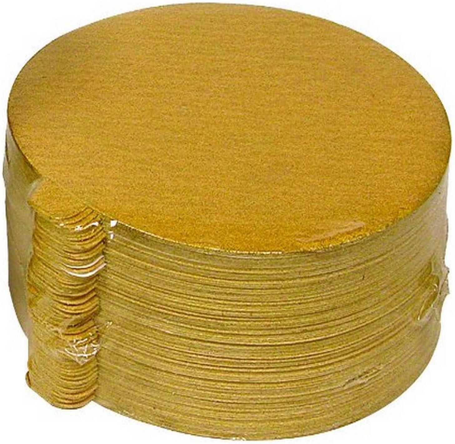 100-Pack 120-Grit Shark 236120 6-Inch PSA Super Gold Discs