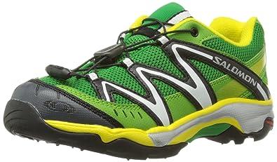 online store e9952 ce770 SALOMON XT Wings Children's Shoes 328051 Green Clover Green ...