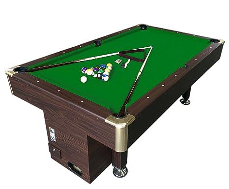 Sala Da Biliardo In Inglese : Tavolo da biliardo bar carambola con gettoniera sala giochi 220 x
